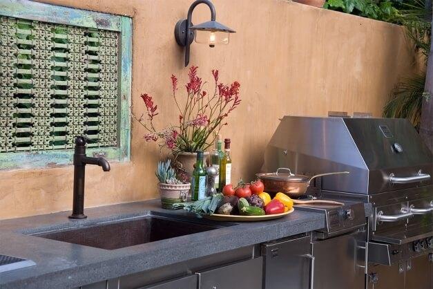 Plumbing For An Outdoor Kitchen Sink Articles Kalamazoo Outdoor Gourmet