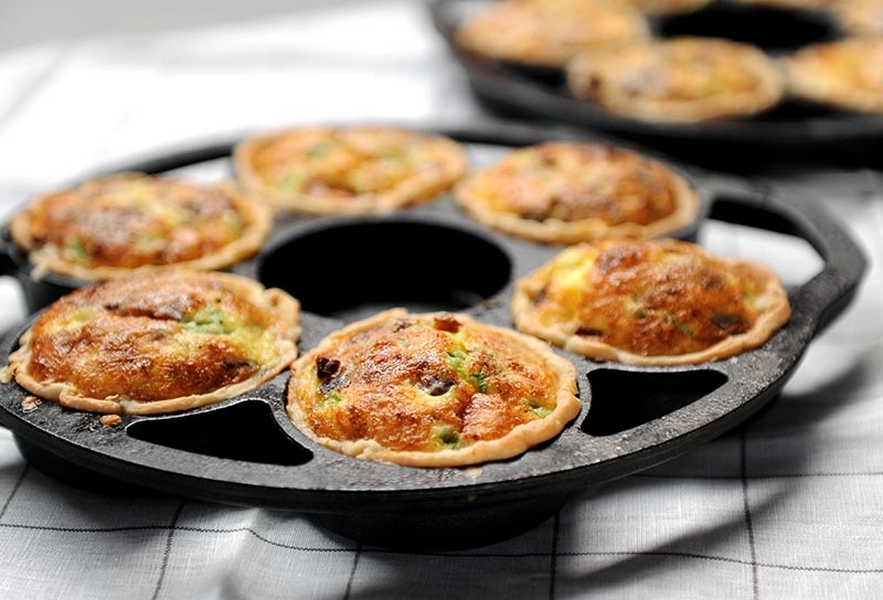 Image of Smoky Bacon Mini Quiches
