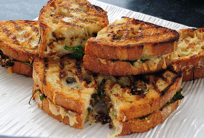 "Image of Sun-dried Tomato Hazelnut ""Pesto"" Grilled Cheese"