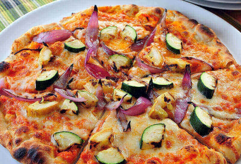 Image of Grilled Vegetable Pizza
