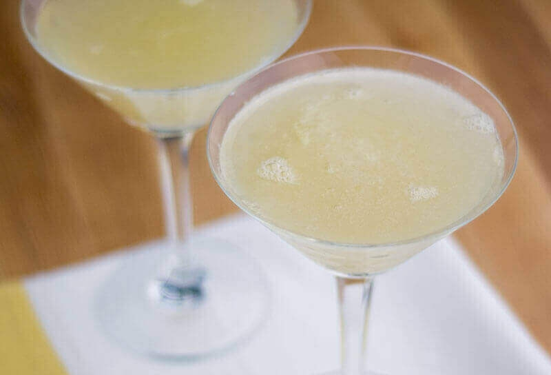 Image of Rosemary Pear Sparkling Martinis