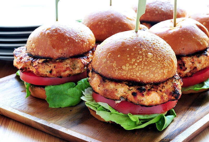 Image of Buffalo Chicken Burgers