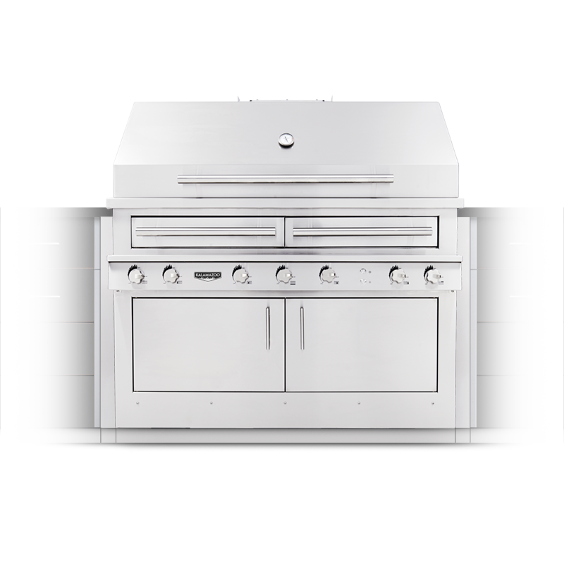 K1000 Built-in Hybrid Fire Grill Image