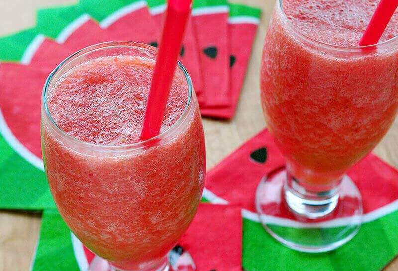 Image of Strawberry Watermelon Rum Smoothies