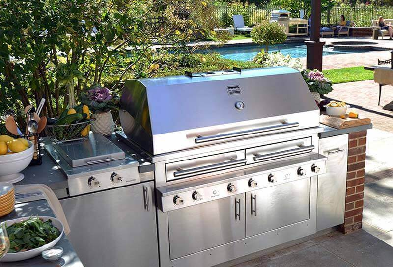 High End Built In Grill Popularity Grows For Upscale Homes