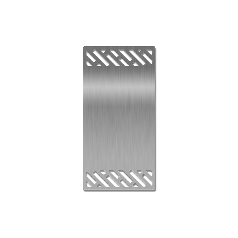 Laser-cut Grill Grate, Plancha Pattern Image