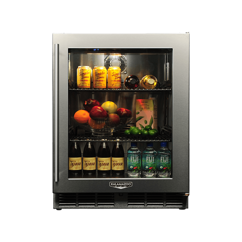 Signature 24-inch Outdoor Refrigerator with Glass Door Image