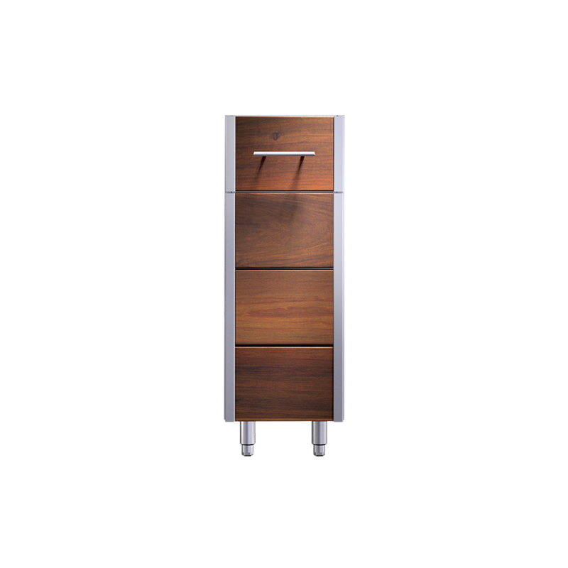 Arcadia 12-inch Pull-out Rack Storage Cabinet Image