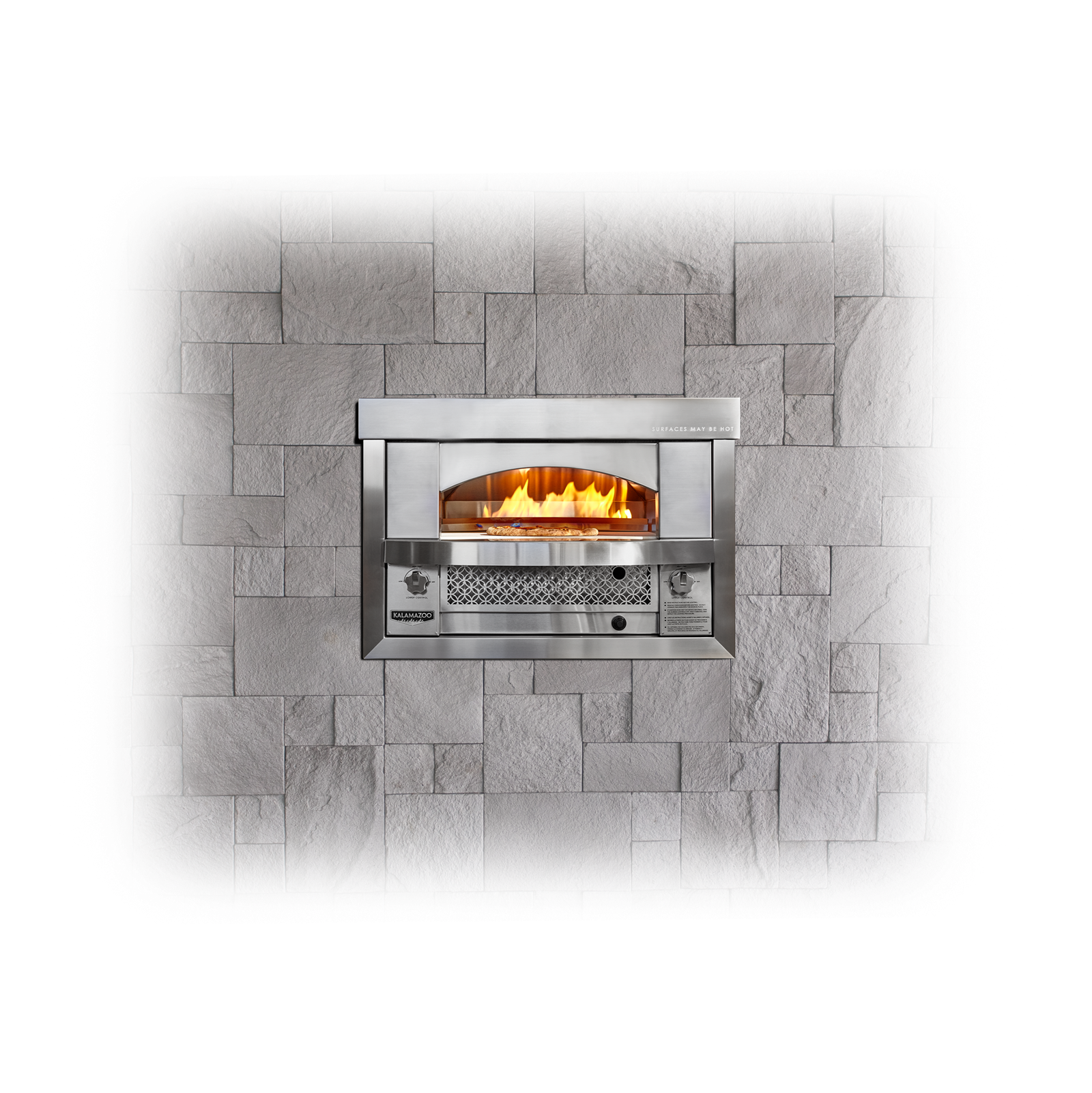 Built-in Artisan Fire Pizza Oven Image