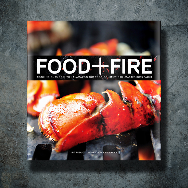 Food + Fire Grillmaster's Cookbook Image